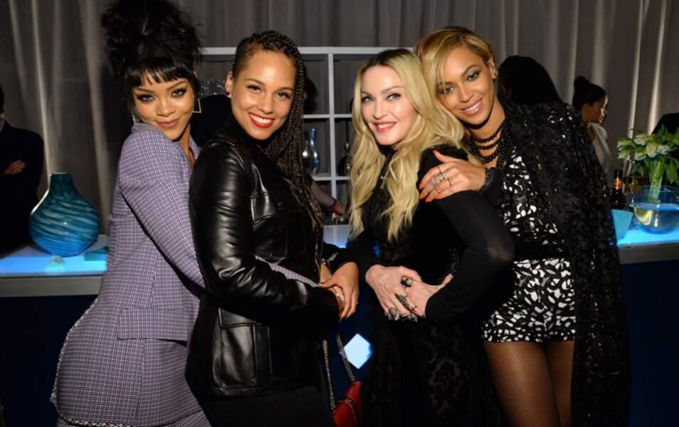 les Reines de la pop prennent en main les rennes de Tidal (Rihanna, Alicia Keys, Madonna et Beyoncé)