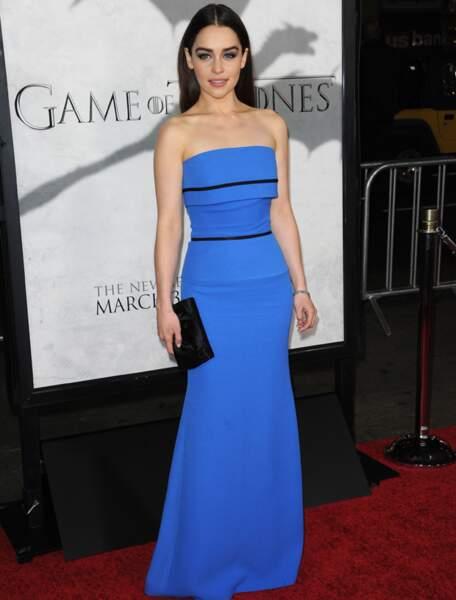 Emilia Clarke est....