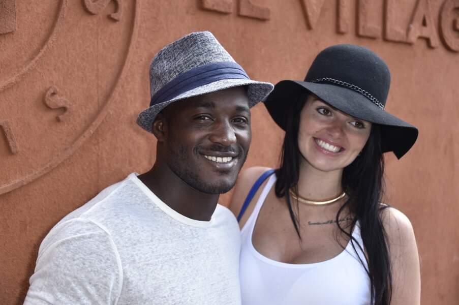 Djibril Camara et sa femme