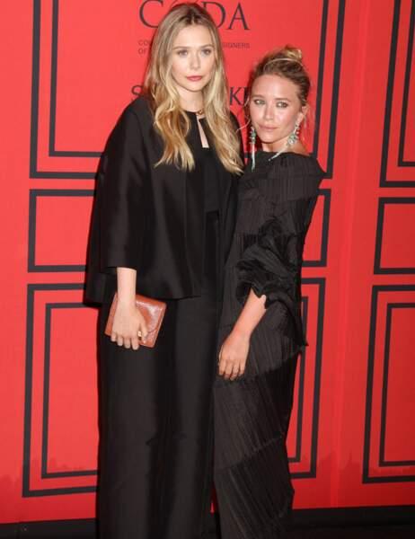 Elizabeth et Mary-Kate Olsen