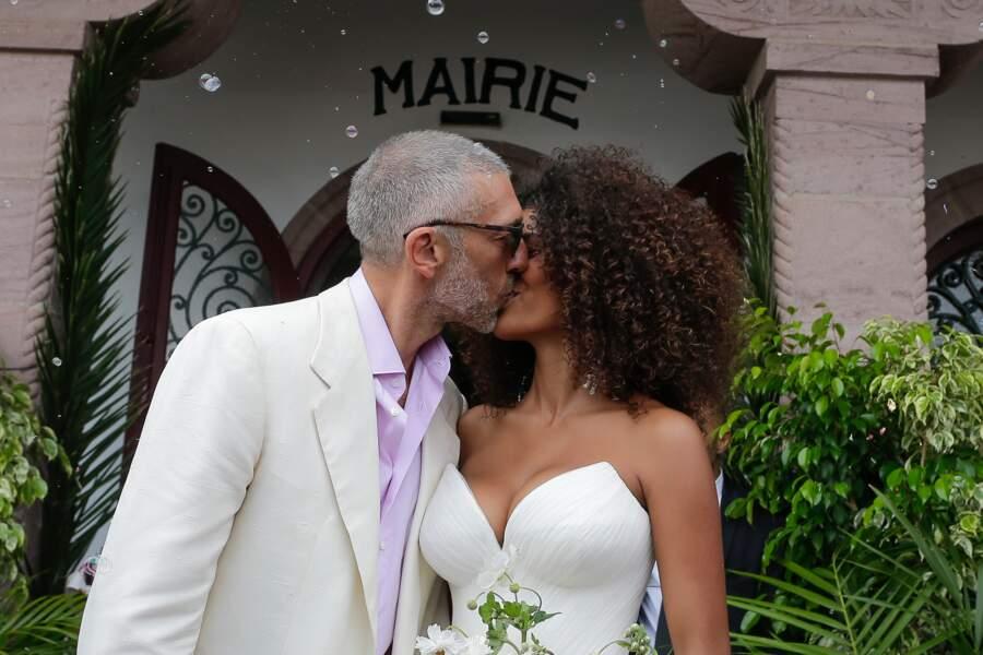Le mariage de Vincent Cassel et Tina Kunakey