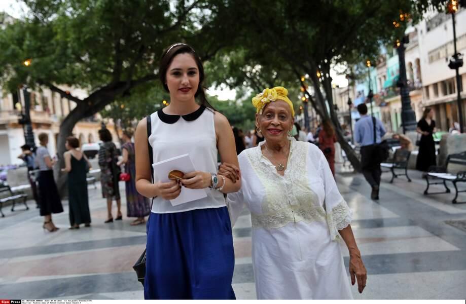 Défilé Chanel à Cuba : la chanteuse cubaine Omara Portuondo