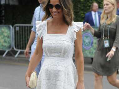 Pippa Middleton enceinte : elle dévoile son baby bump à Wimbledon