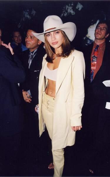 MTV Video Music Awards : Jennifer Lopez from the wild wild west, 1998