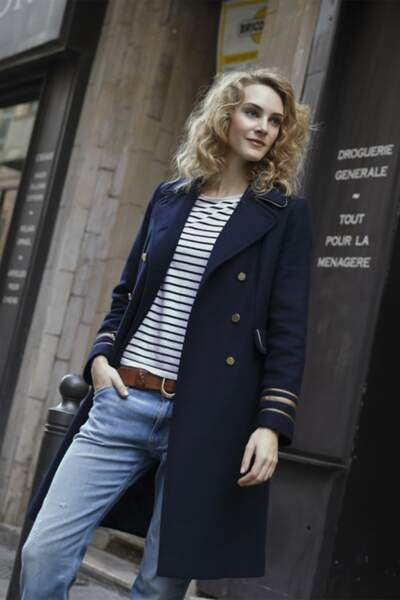 Manteau militaire Trench and Coat, 249€