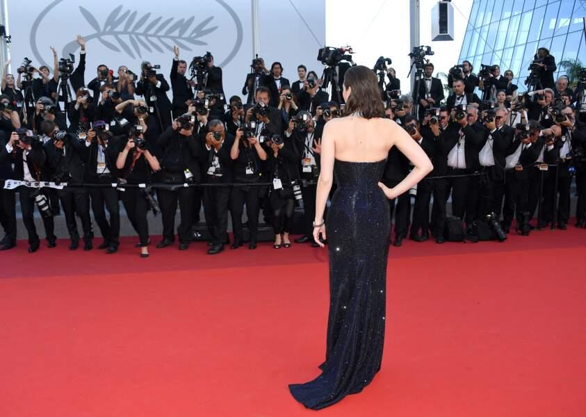 Cannes - Montée des Marches pour le 70ème anniversaire : Marion Cotillard