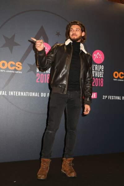 Rayane Bensetti au Festival international du film de comédie de l'Alpe d'Huez