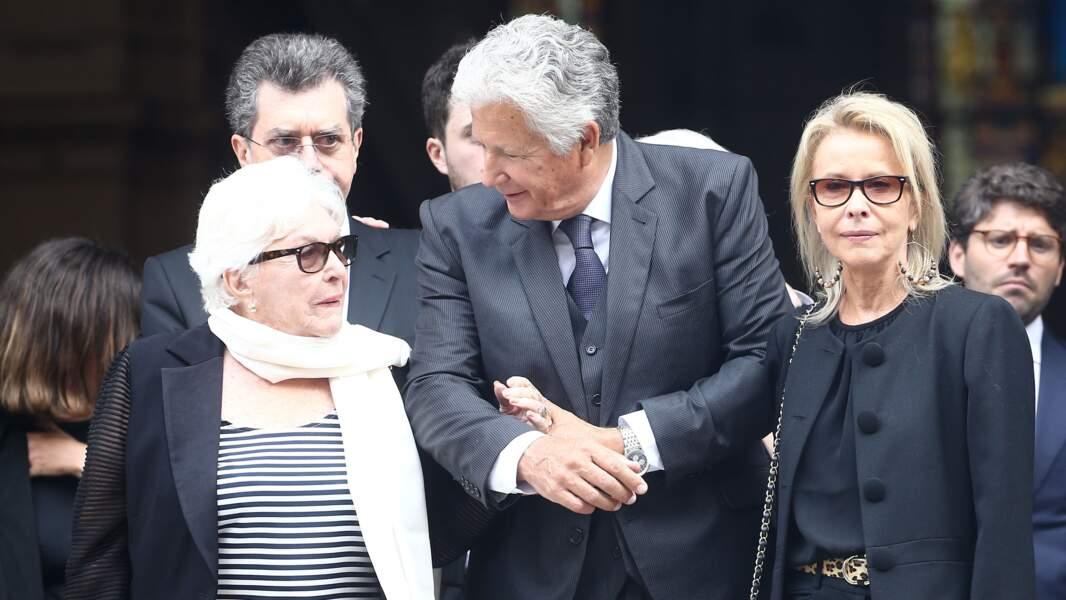 Line Renaud, Pierre Dhostel et sa femme Carole Bellemare