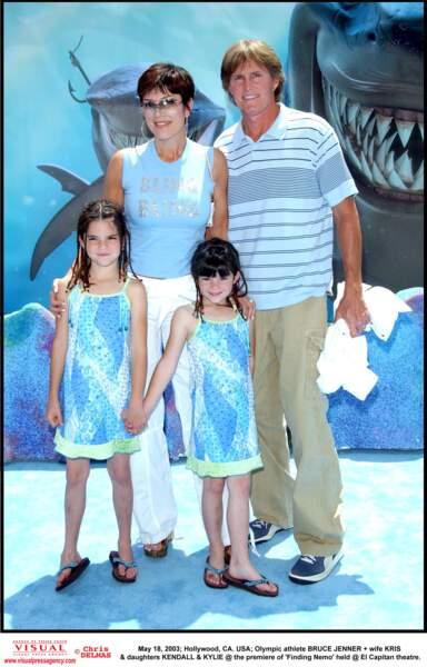 2003 : c'était tellement simple d'habiller Kendall et Kylie à l'époque