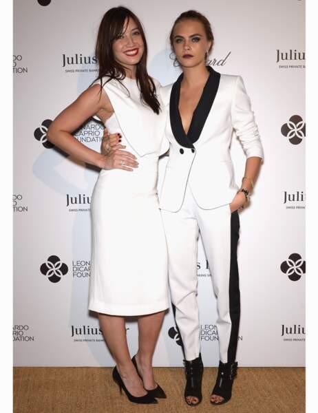 Daisy Lowe et Cara Delevingne, le style à la british