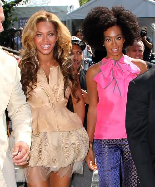 Beyoncé et Solange Knowles : who run the world? Sisters!