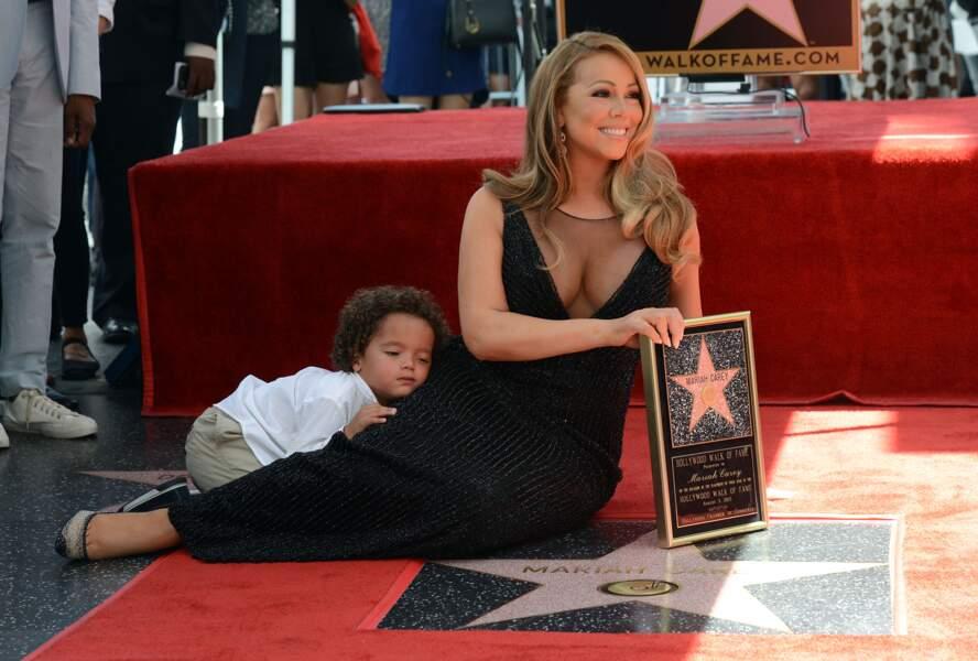 ... et Moroccan a tenu à faire une petite sieste... sur maman...