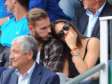 M. Pokora amoureux à Roland Garros