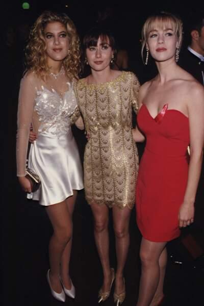 Shannen Doherty était tellement odieuse avec Tori Spelling et Jennie Garth que c'est elle fut finalement virée !