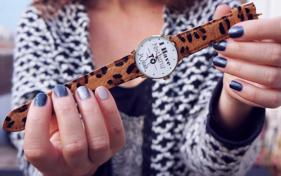 La montre de Marieluvpink créée pour RichGoneBroke