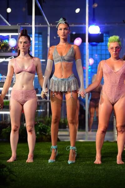 Défilé Lingerie de Rihanna Savage x Fenty pour la clôture de la fashion week new-yorkaise