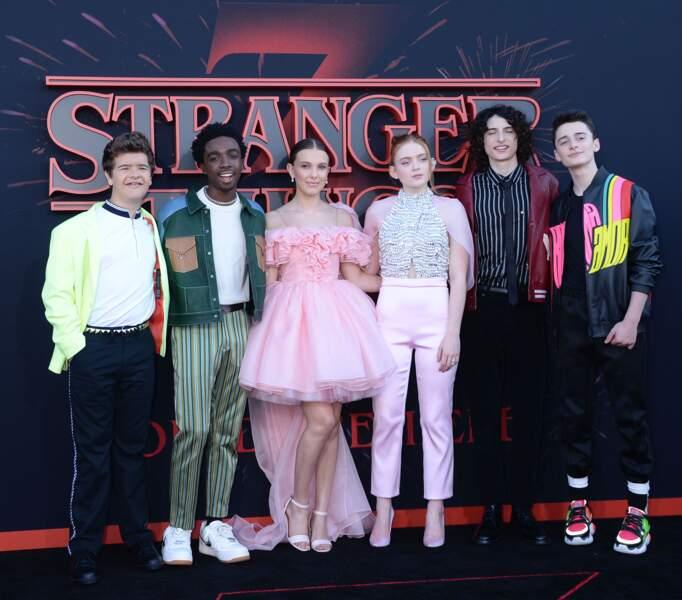 Le casting de Stranger Things au lancement de la saison 3