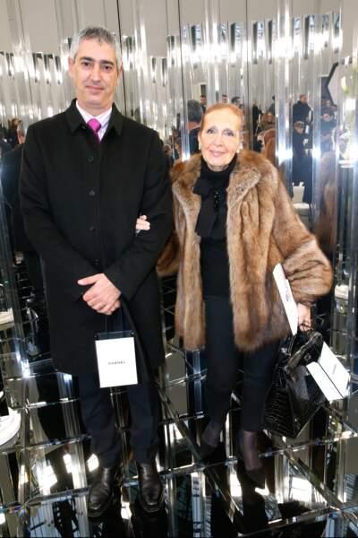 Défilé Chanel Haute Couture : l'écrivaine Danielle Steel