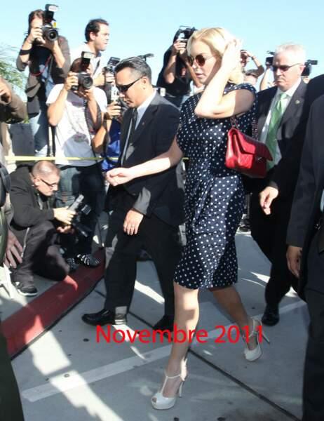 Lindsay Lohan Novembre 2011