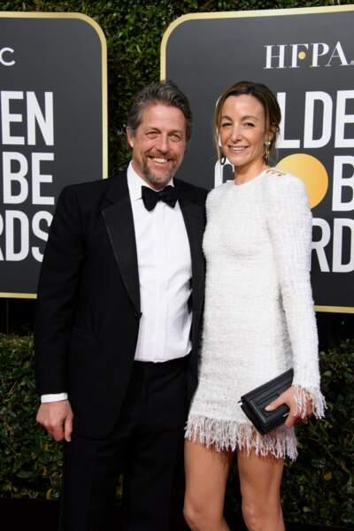 76ème cérémonie des Golden Globes : Hugh Grant et Anna Elisabet Eberstein