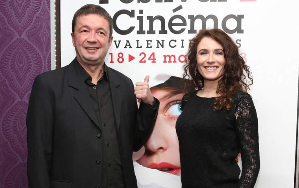 Fréedéric Bouraly et Elsa Lunghini