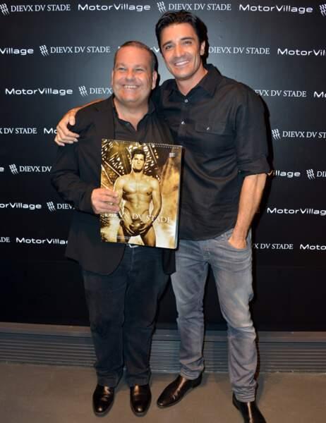 Et avec le photographe Fred Coudon