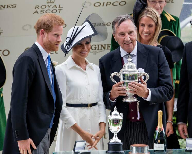 Royal Ascot : le prince Harry et Meghan Markle