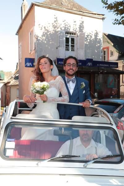 Mariage de Thomas Hollande et Emilie Broussouloux