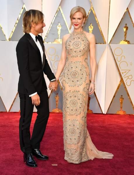 L'étrange visage de Nicole Kidman : une semaine plus tôt, aux Oscars, elle était comme ça