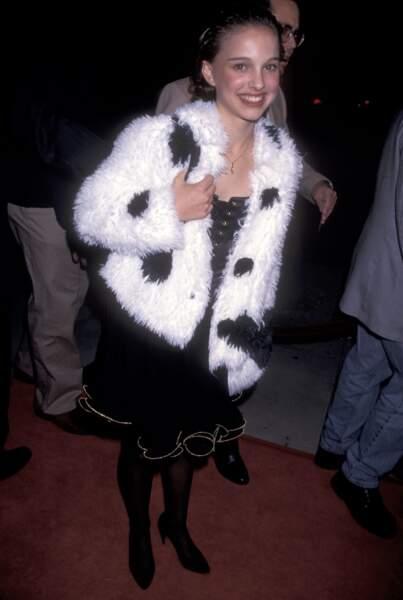 Natalie Portman à l'époque du film Léon