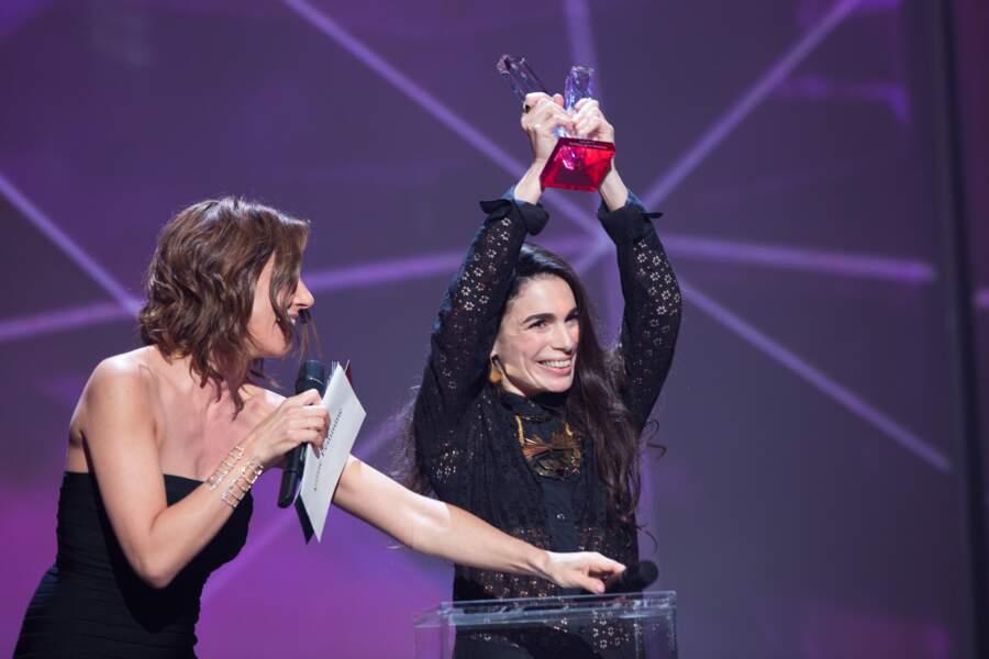 Yael Naim était victorieuse...