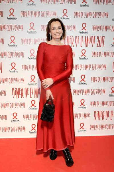 Dîner du Sidaction 2017 : Kristin Scott Thomas