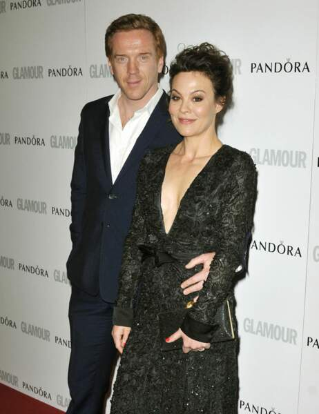 Damian Lewis (Homeland) et sa femme Helen McCrory