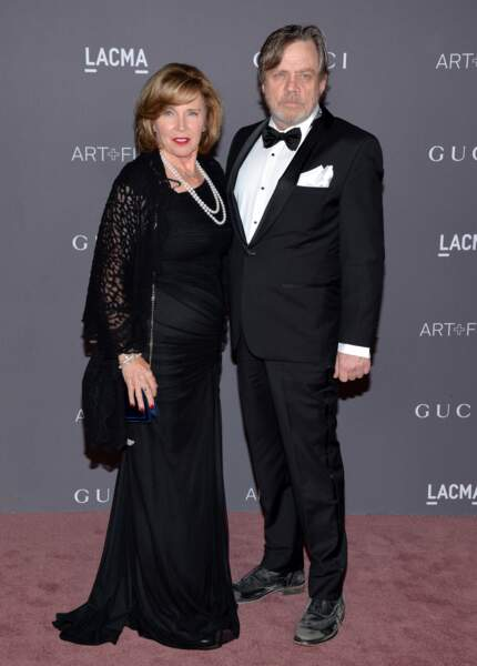 Mark Hamill et son épouse, Marilou 2017 LACMA Art + Film Gala - LA
