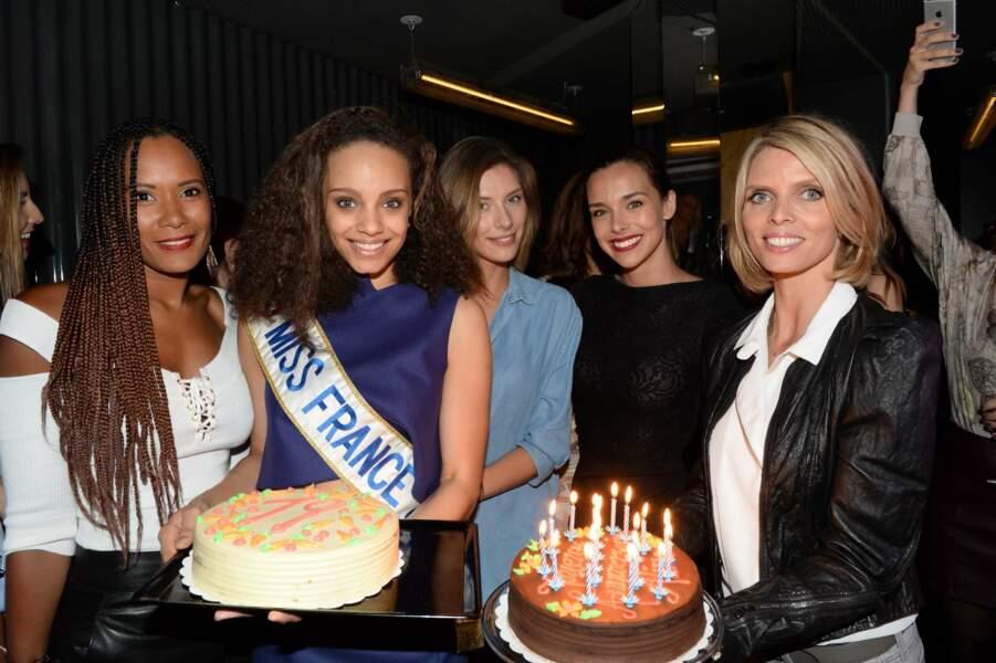 Pour ses 19 ans, la jeune femme n'a pas eu un, mais deux gâteaux d'anniversaire
