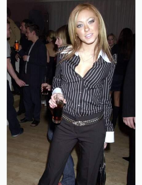 Natasha Hamilton en novembre 2000
