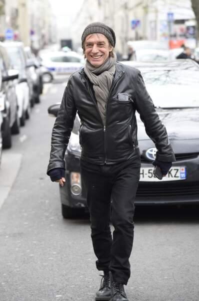 Jean-Louis Aubert, à l'hommage à Jacques Higelin au Cirque d'Hiver à Paris, le 12 avril