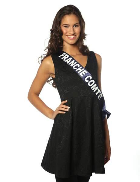Miss Franche Comté - Camille Duban, 19 ans, 1m74