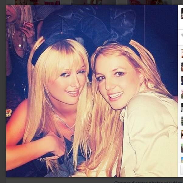Paris Hilton et Britney Spears en lapines coquines