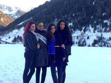Alicia Aylies Miss France 2017 : ses premières vacances à la montagne