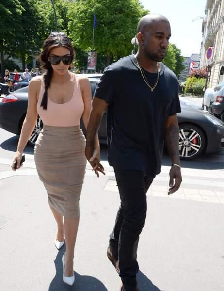 Sous le soleil de Paris, Kim est ultra sexy !
