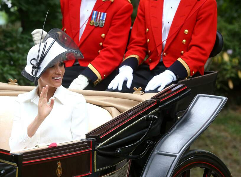 Royal Ascot : Meghan Markle