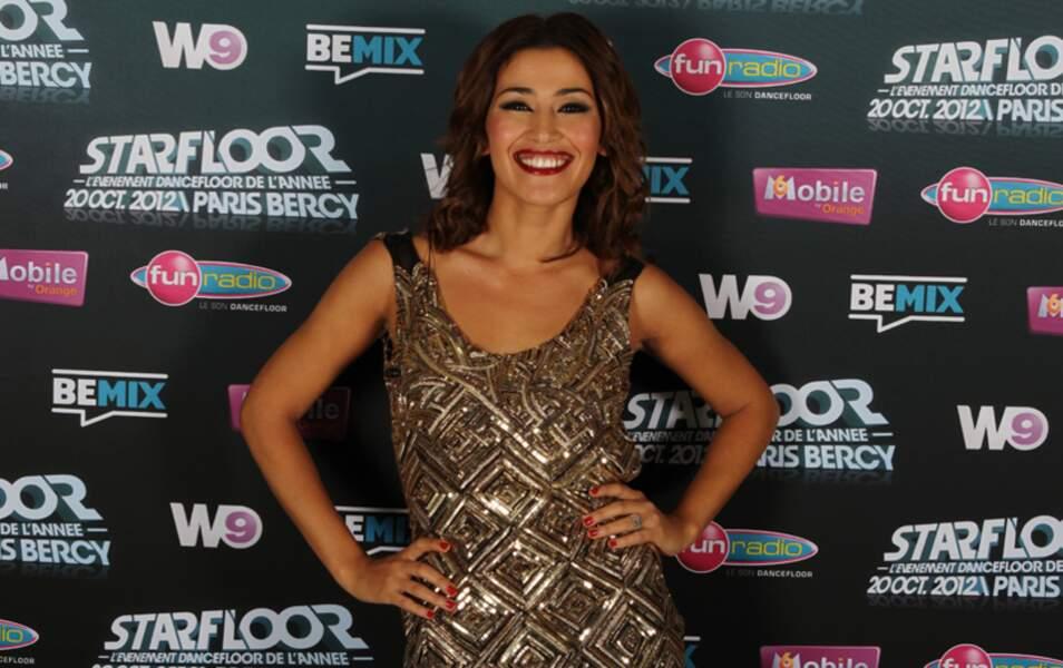 Karima Charni rayonnante pour le Starfloor 2012