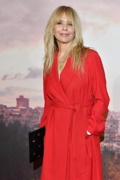 Rosanna Arquette à l'avant-première d'Holy Lands, le 4 décembre à Paris