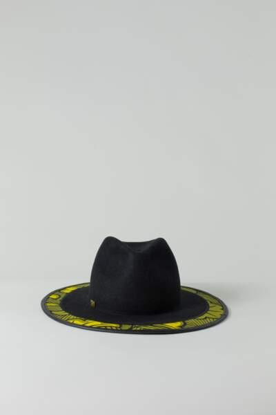 Chapeau Fedora Cotonou kaki, The Black Hats, 350€