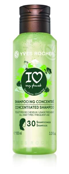 Shampooing concentré I love my planet, Yves Rocher, 4,50€