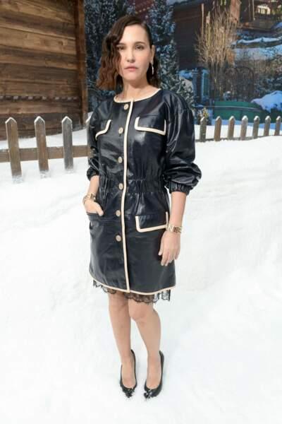 Virginie Ledoyen au défilé Chanel pour un dernier hommage à Karl Lagerfeld