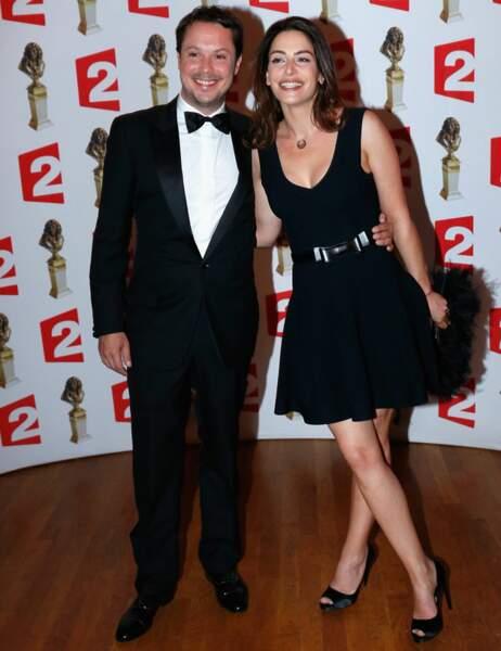 Davy Sardou et sa compagne Noémie Elbaz
