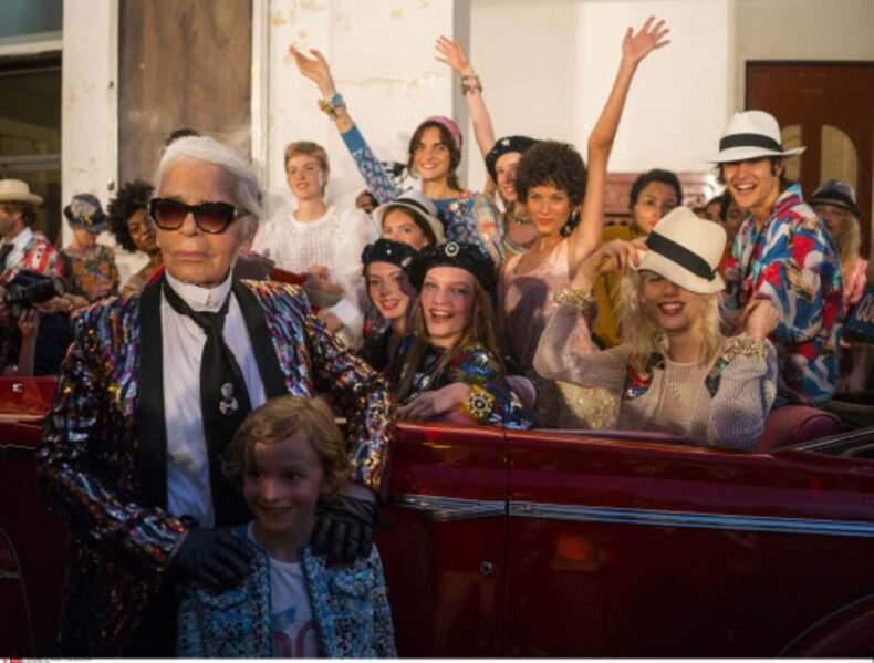 Défilé Chanel à Cuba : Quand Karl Lagerfeld arrive à Cuba, ça se voit !