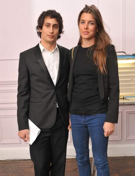 Charlotte de Monaco et Alex Dellal